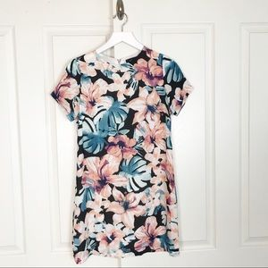 VICI Watercolor Floral S/S Shift Dress